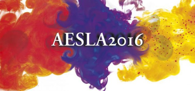 AESLA 2016 – SECOND CALL FOR PAPERS