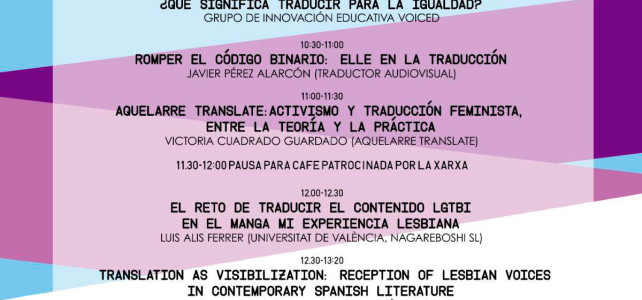 VOICED. Traducir para la igualdad